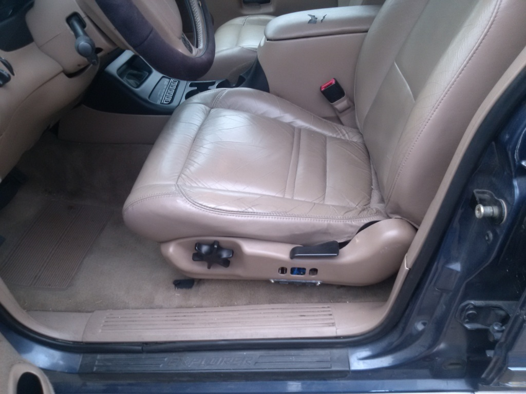 How To Fix A 2001 Ford Explorer Power Seat Switch Justin