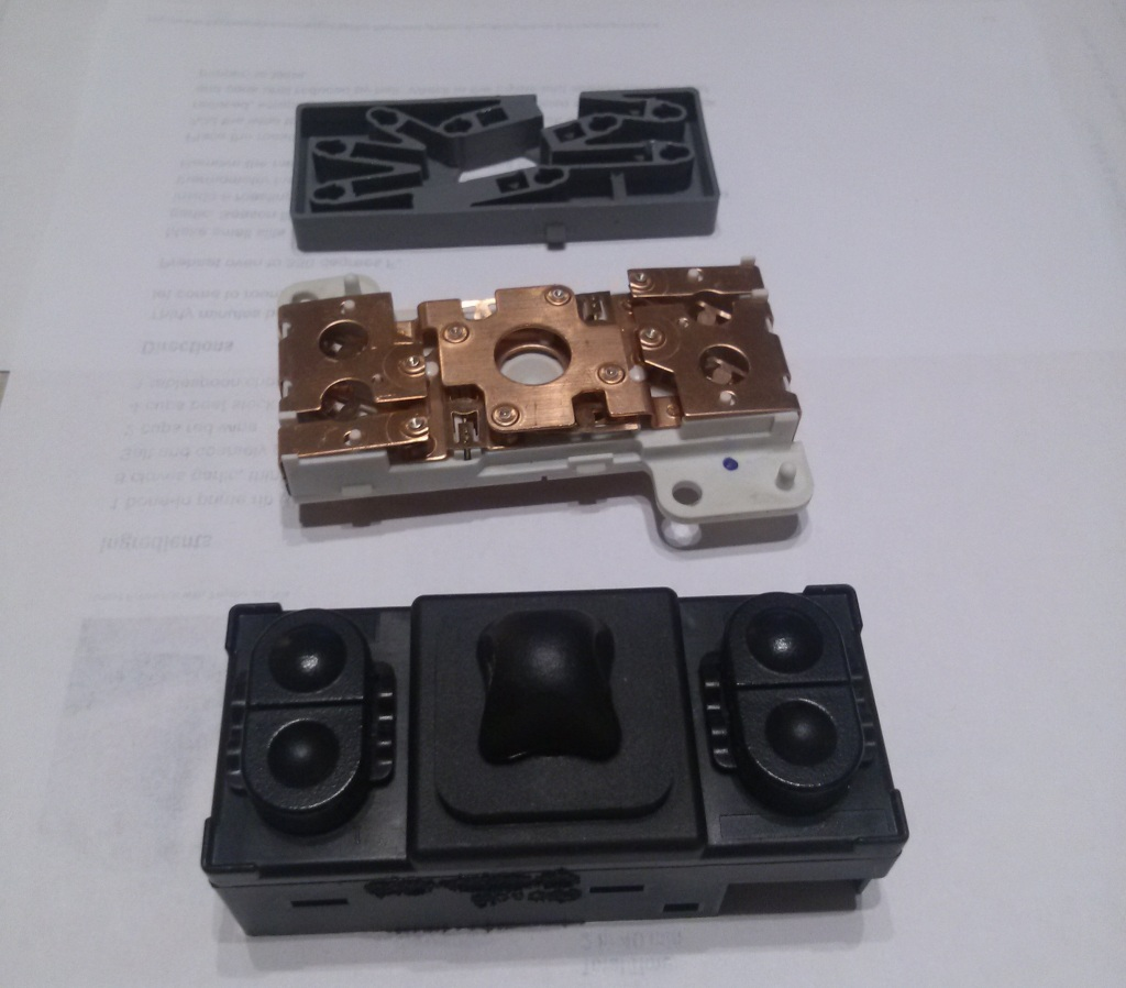 How To Fix A 2001 Ford Explorer Power Seat Switch Justin Parr 2005 F 150 Wiring Diagram You Can See That There Are Two Front Tilt Up Down Buttons Four Position Movement And Rear The