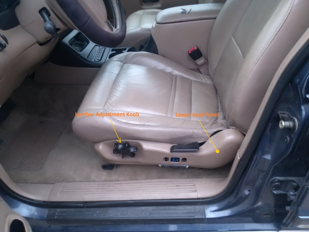 Remove the Lower Seat Panel